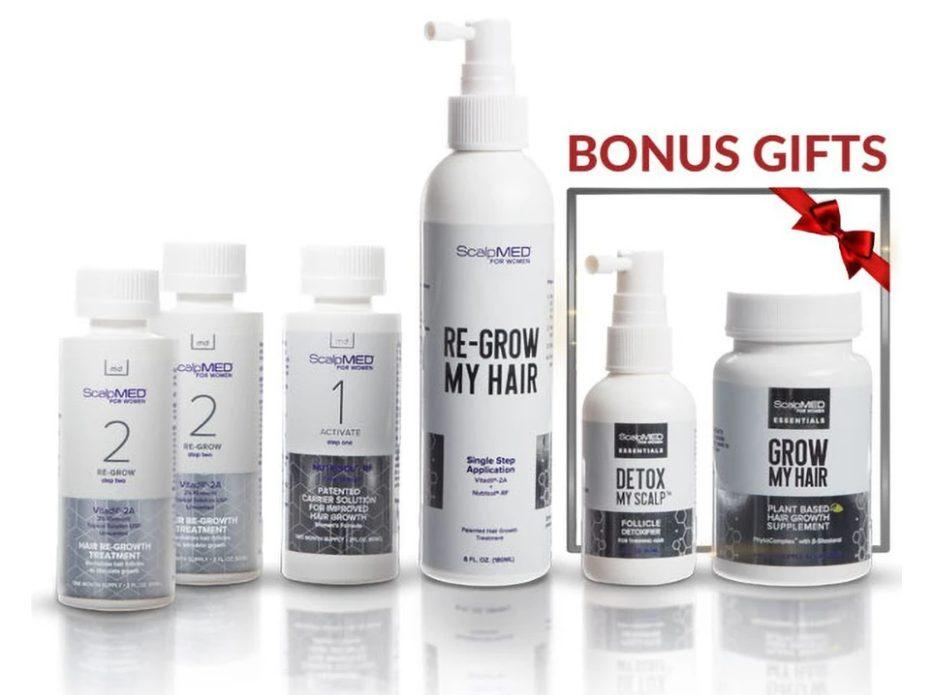 scalp med hair regrowth for women