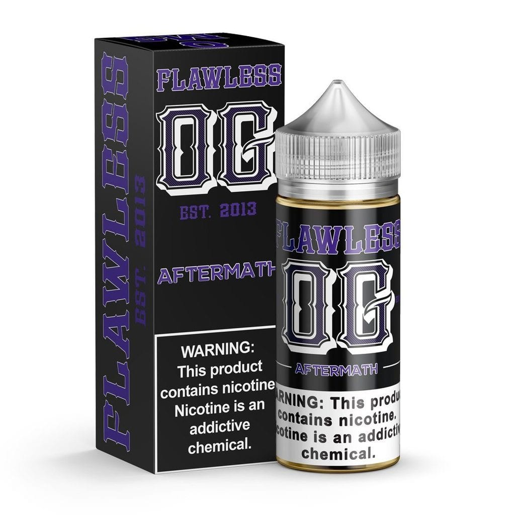 Flawless vape juice Aftermath – Flavor review