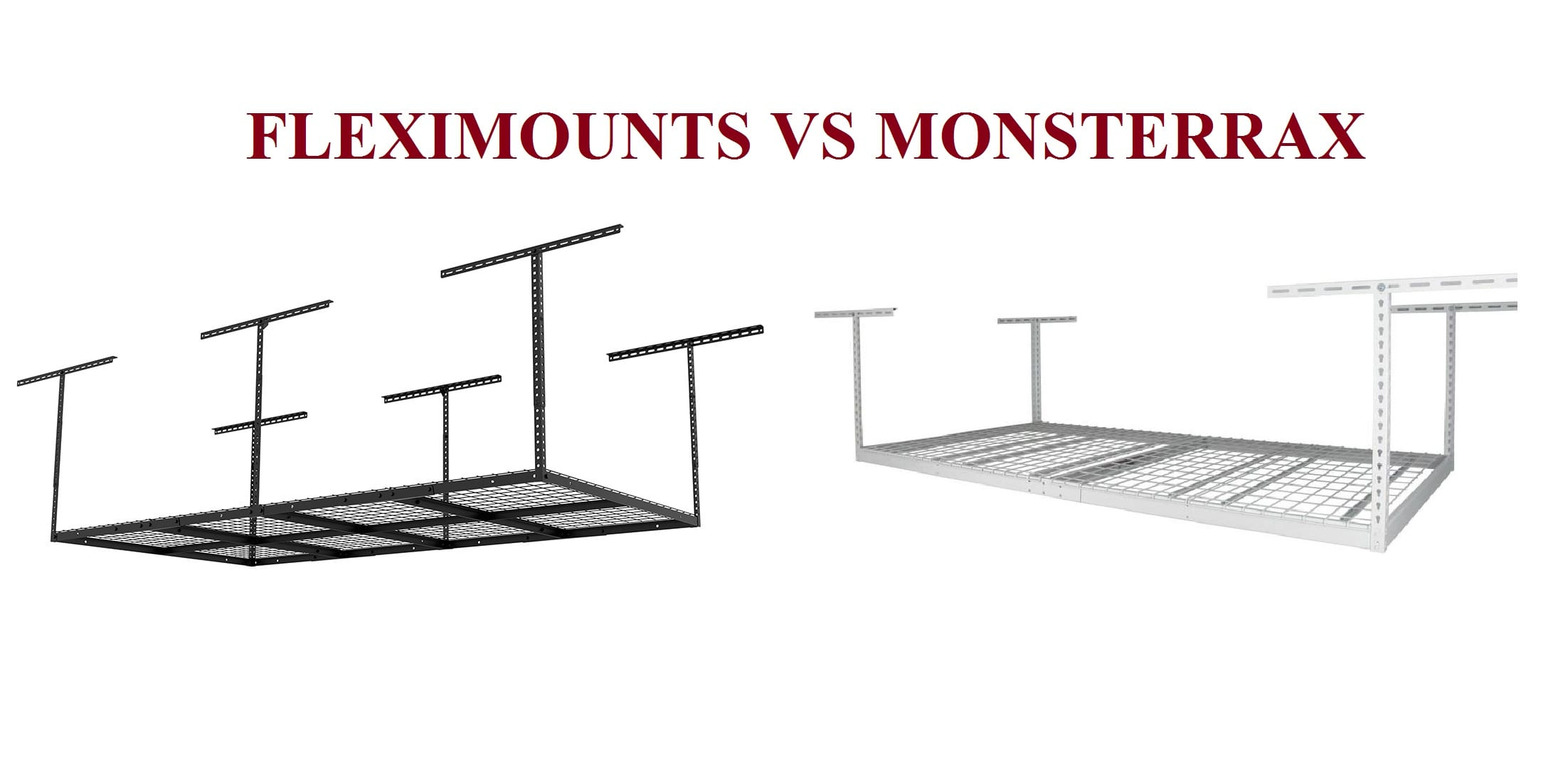 Fleximounts vs MonsterRax