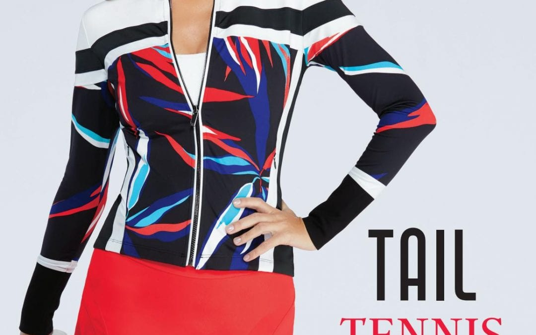 Trendy Tail tennis Palm Springs collection for sportive women