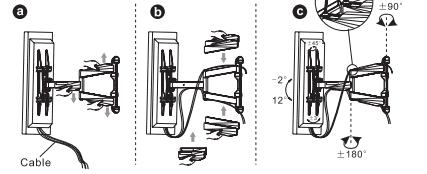 Fleximounts instructions - Step 7: Cable management