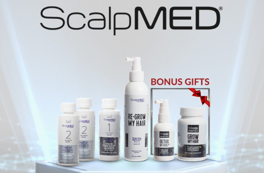 Scalp Med reviews 2021 – Patented Hair Regrowth System