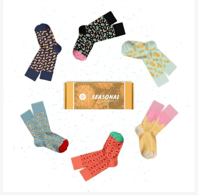 Sock Fancy seasonal box summer 20