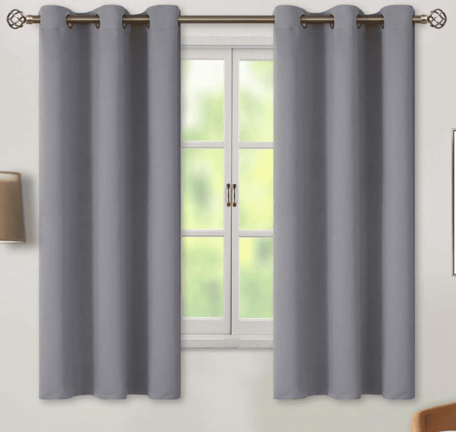 Snow City Shop curtains