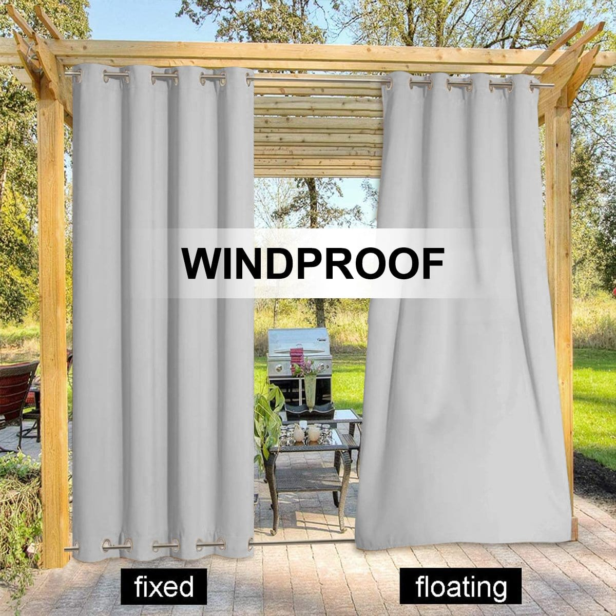waterproof curtains for balcony