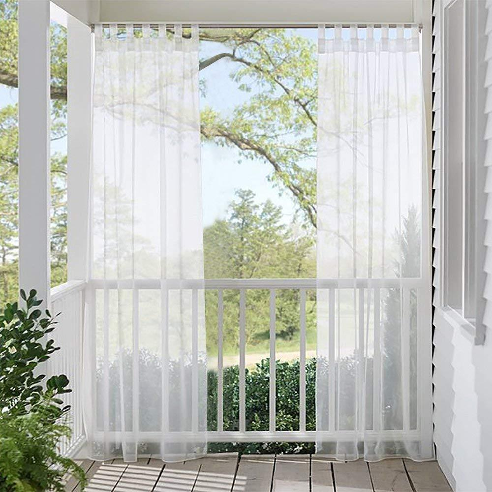 Snow City outdoor curtains