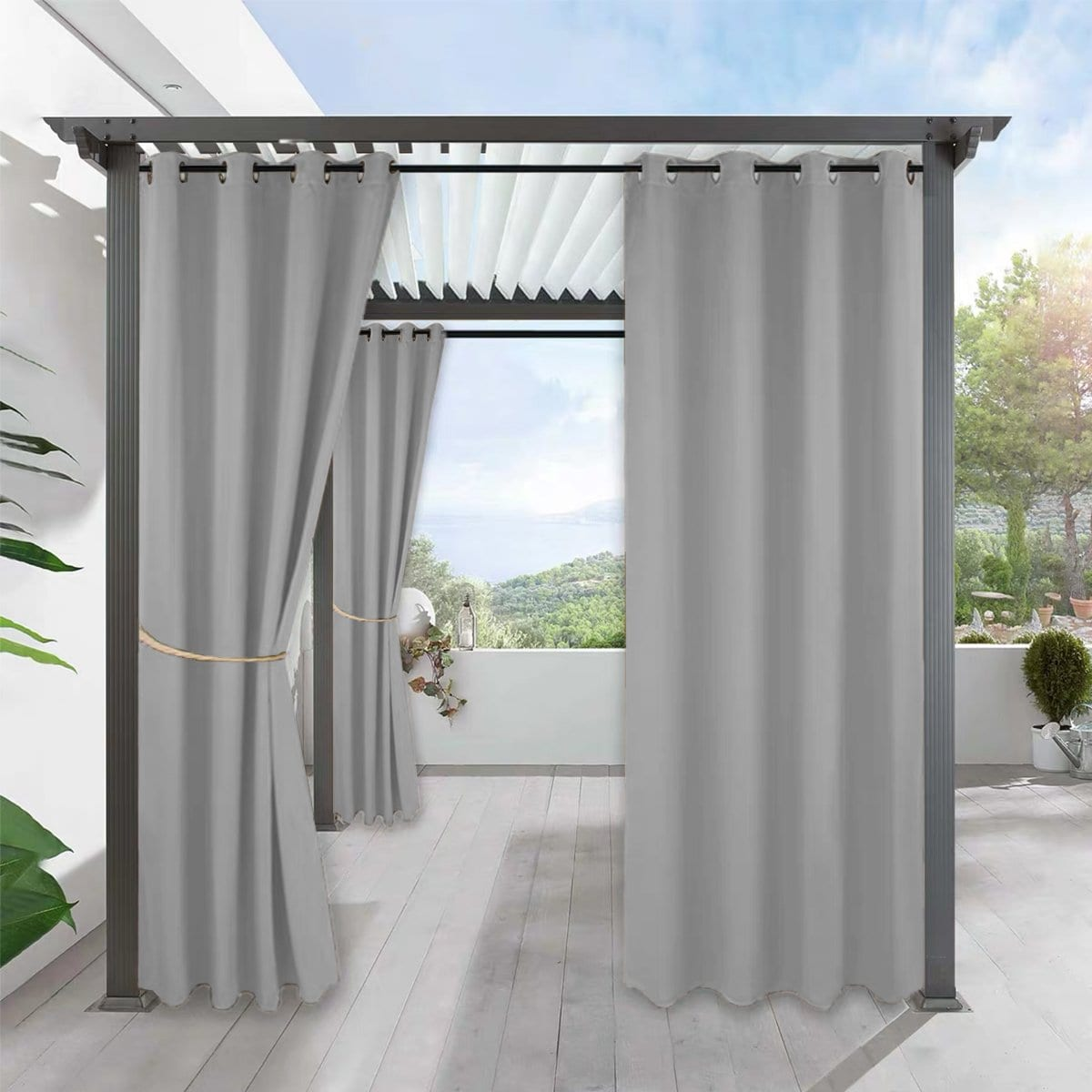 How to choose suitable outdoor curtains waterproof?