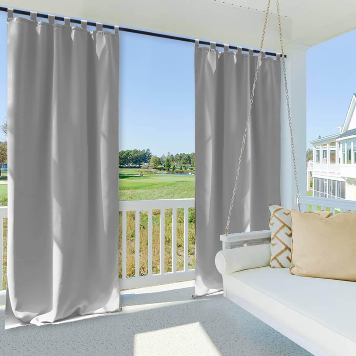 SnowCity outdoor waterproof curtains