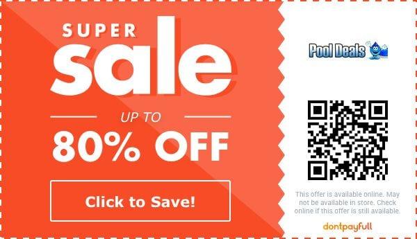 pool deals coupon