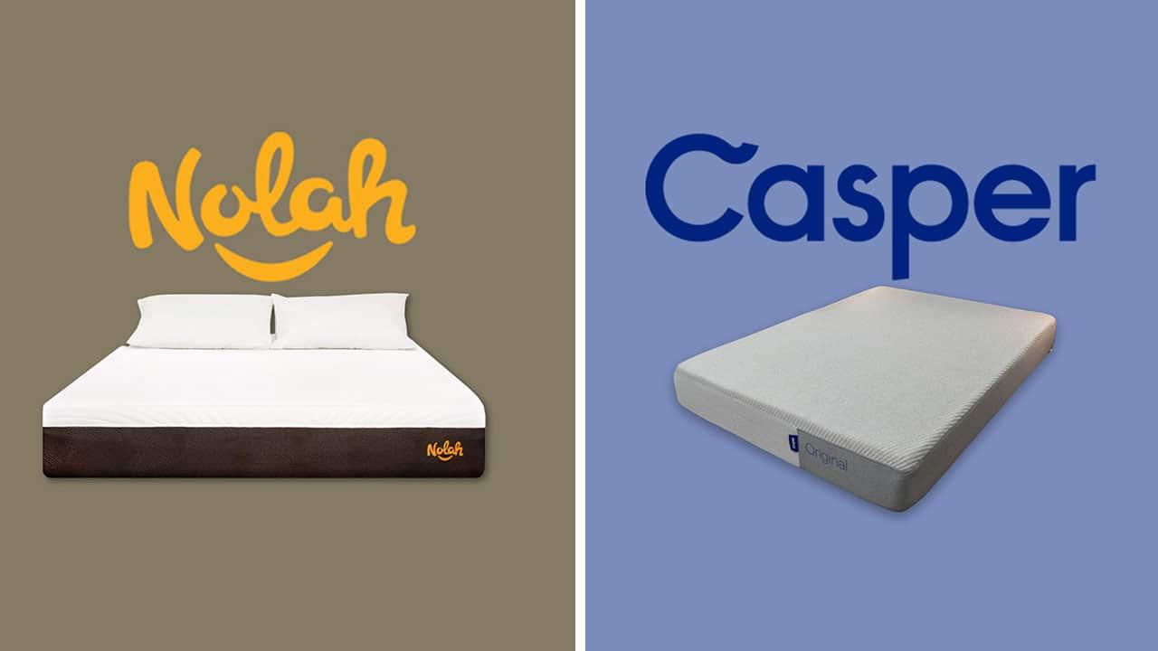 Nolah mattress vs Casper: Which is better?