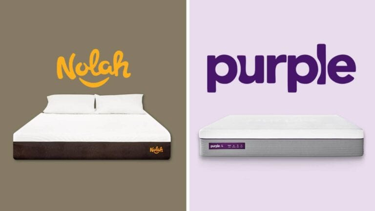 Nolah mattress vs Purple