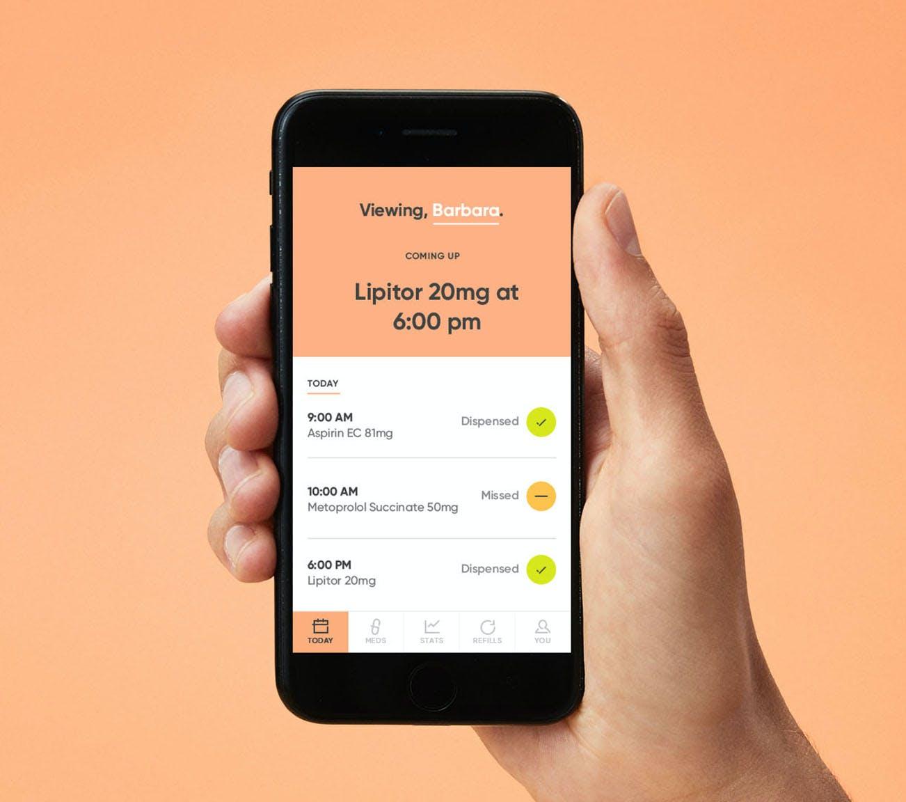Beginner instructions to the Hero Health app