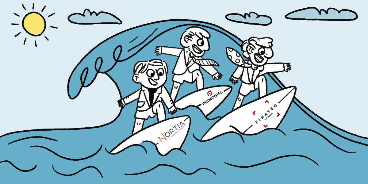 Nortia, Finaveo, Primonial : une vague de consolidation dans l'univers des CGP
