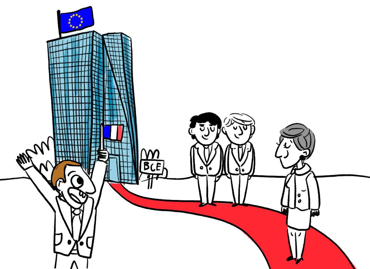 BCE : Christine Lagarde sur le tapis rouge