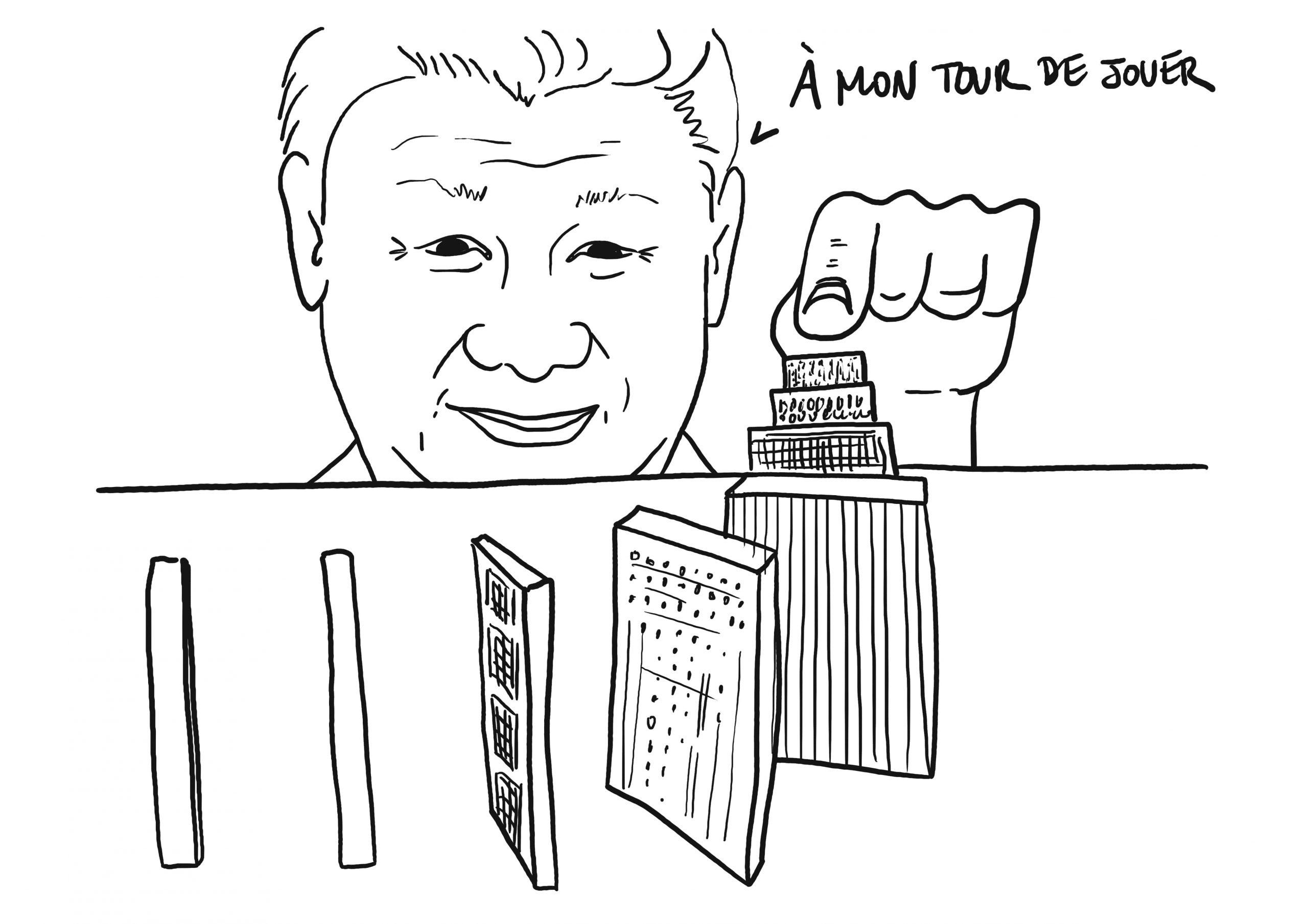 Chine : Evergrande, le domino de l'immobilier dont la chute effraie les marchés