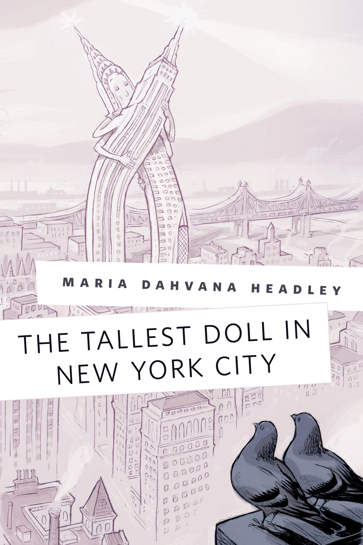 The Tallest Doll in New York City Cover