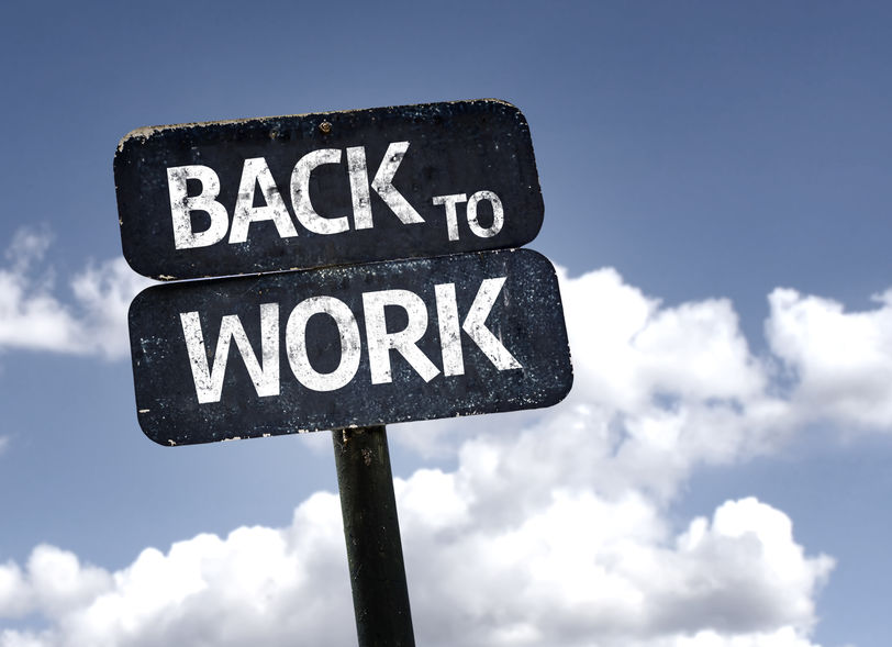 CDC Returning to Work Guidance