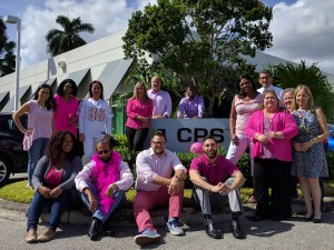 Pink Tuesday 2016 at CPS in honor of breast cancer survivors