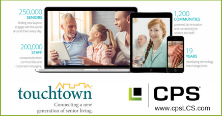 Touchtown enhances the quality of life for seniors and their families