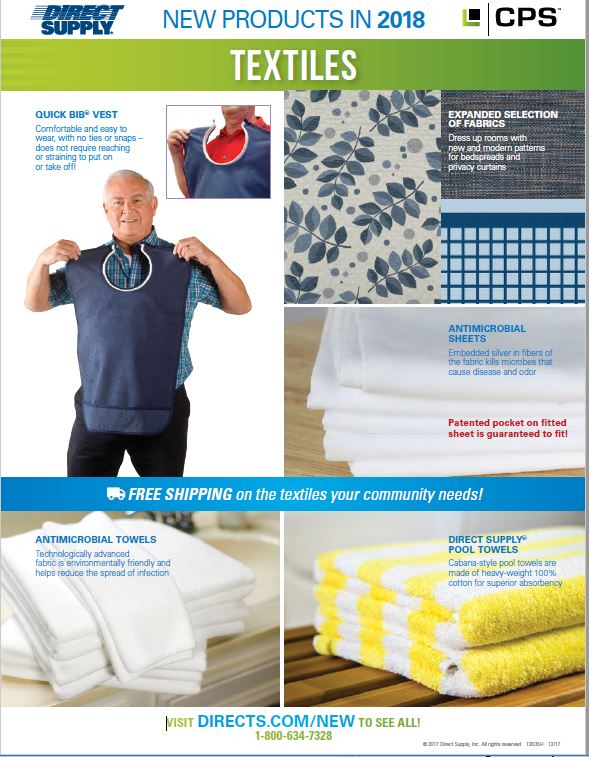 Direct Supply textiles