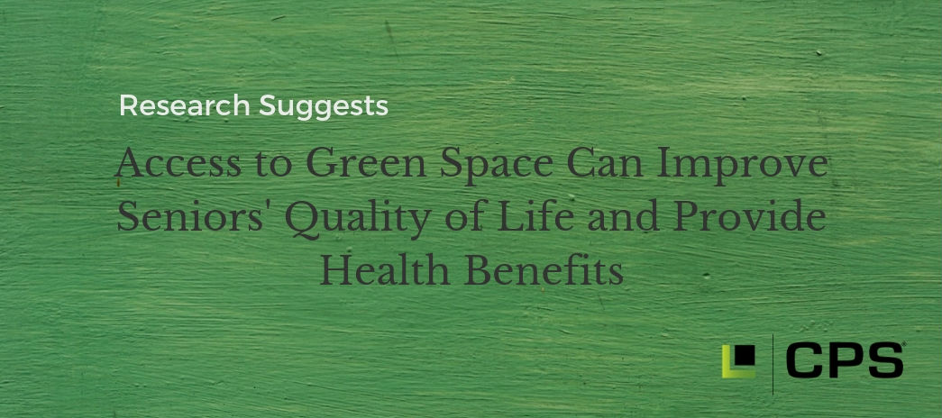 Access to green space can lessen cognitive decline in seniors