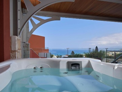 Deluxe Room Sea View With Outdoor Jacuzzi