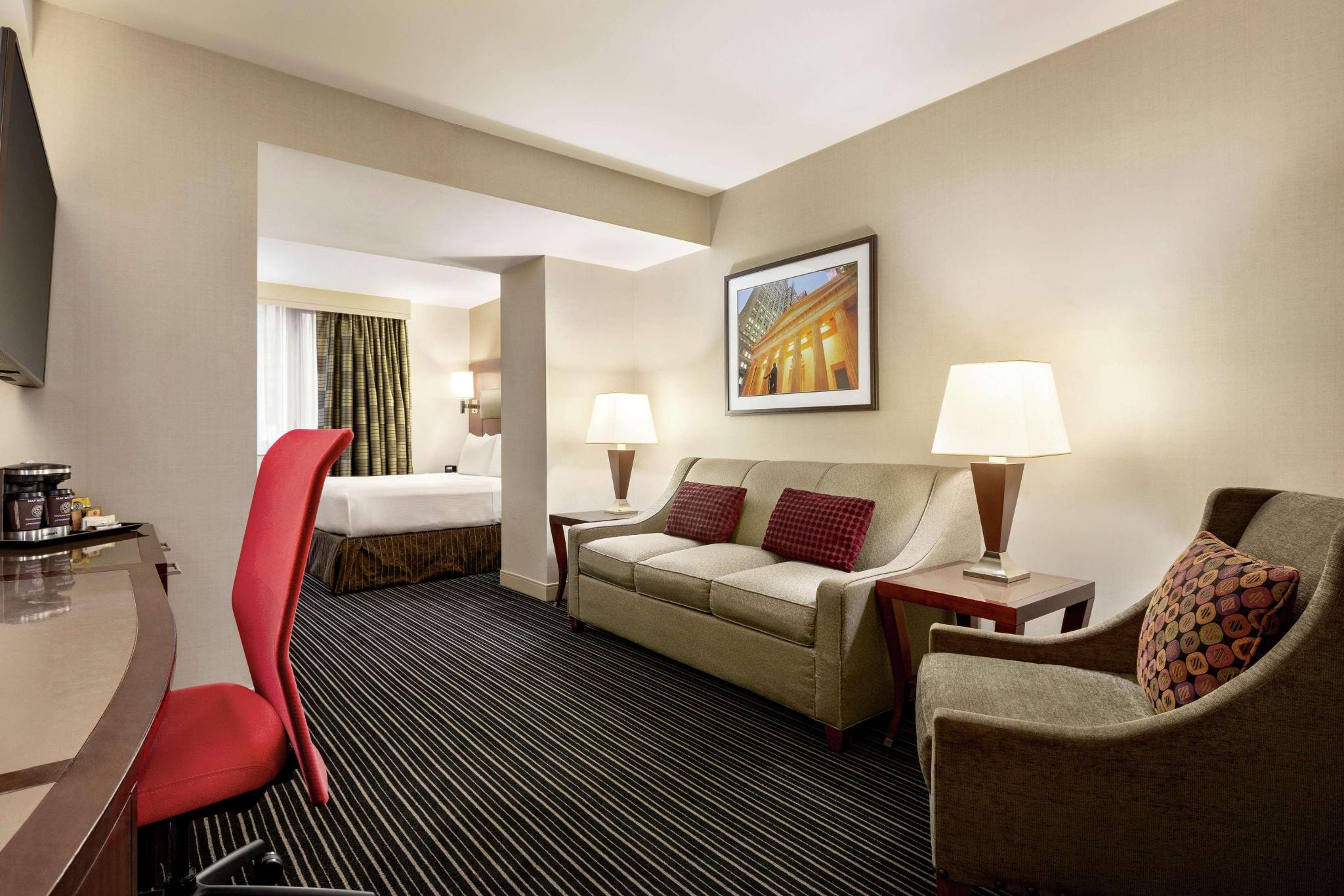 1 King Bed Junior Suite With Sofa Bed