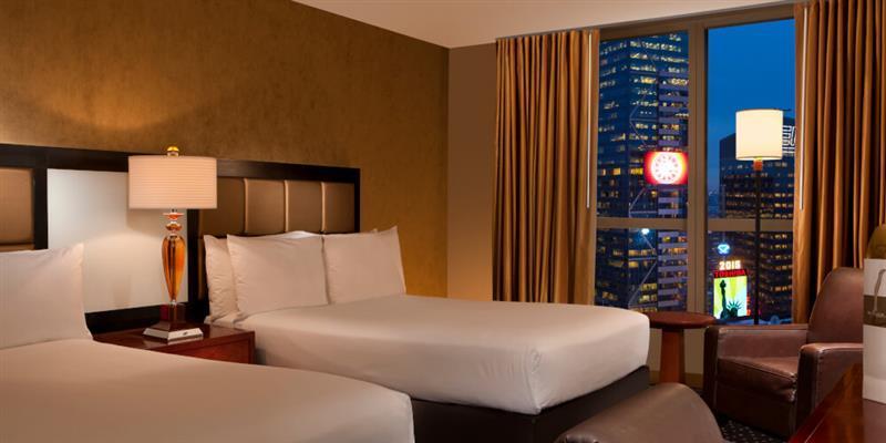 Room 2 Double Beds Deluxe Room