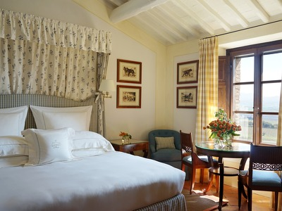 Double Deluxe Riserva Room  + Chic Treats in Overview
