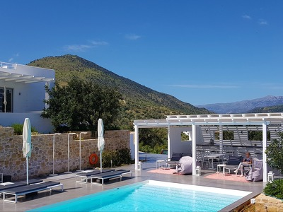 Galini Breeze - whole resort + Chic Treats in Overview