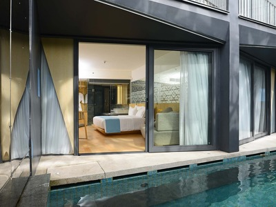 Deluxe Pool  + Chic Treats in Overview