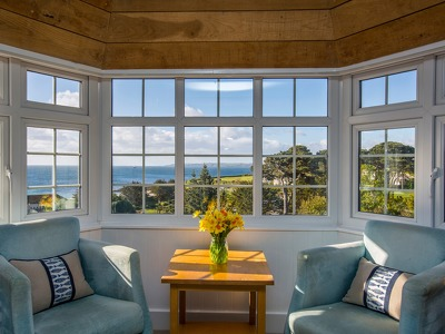 Falmouth Bay Rooms + Chic Treats in Overview