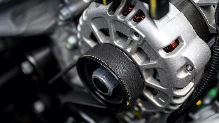 Partes del alternador de un carro v003