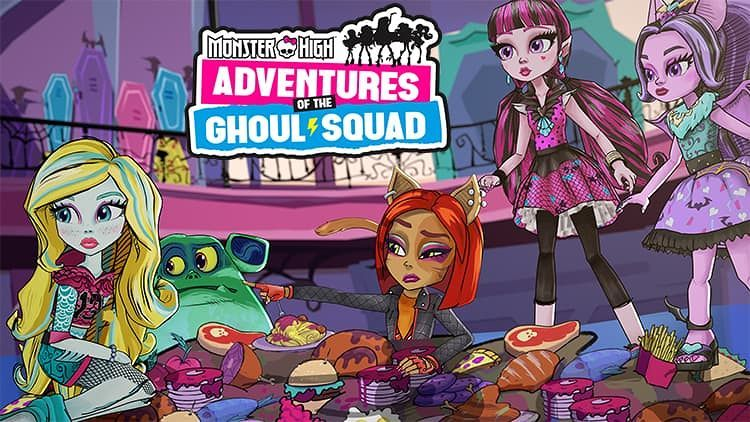 Monster High: The Adventures of The Ghoul Squad!