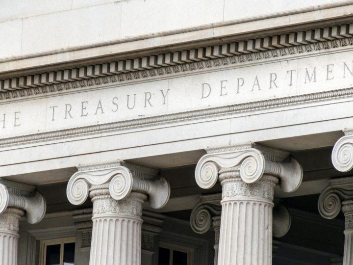 treasury department building