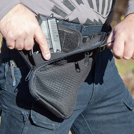 Leather Concealment Bag Holsters