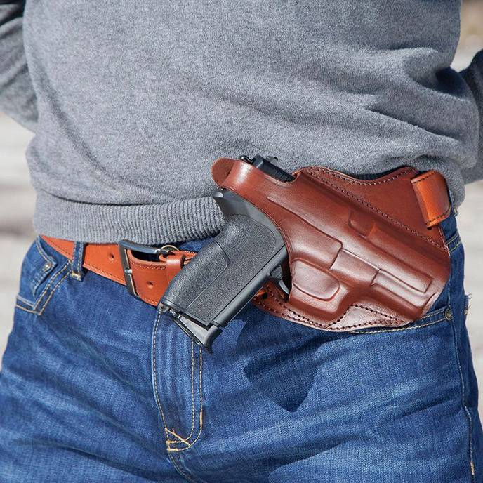 Leather Cross Draw Holsters