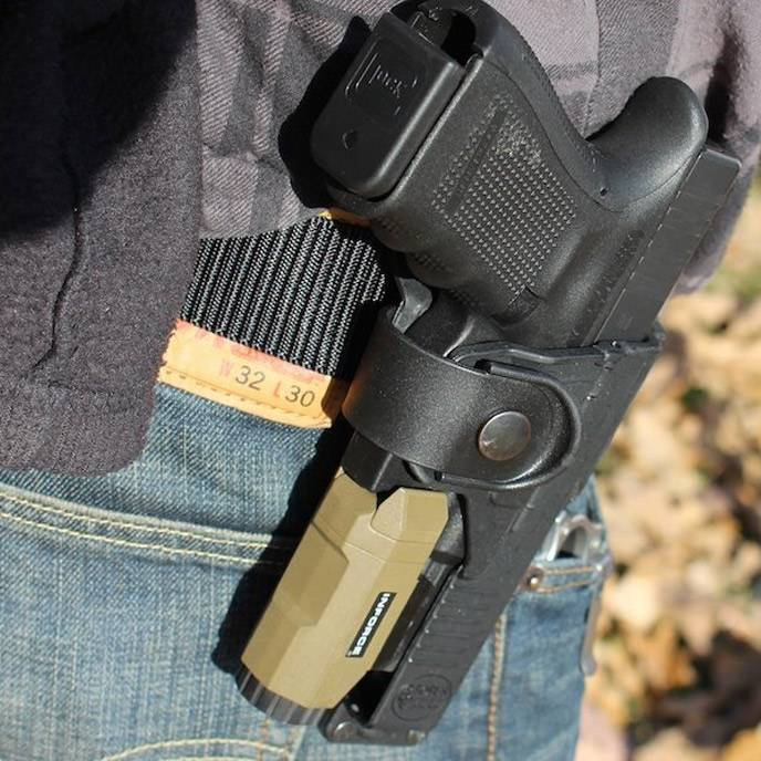 Leather Light & Laser Bearing Holsters
