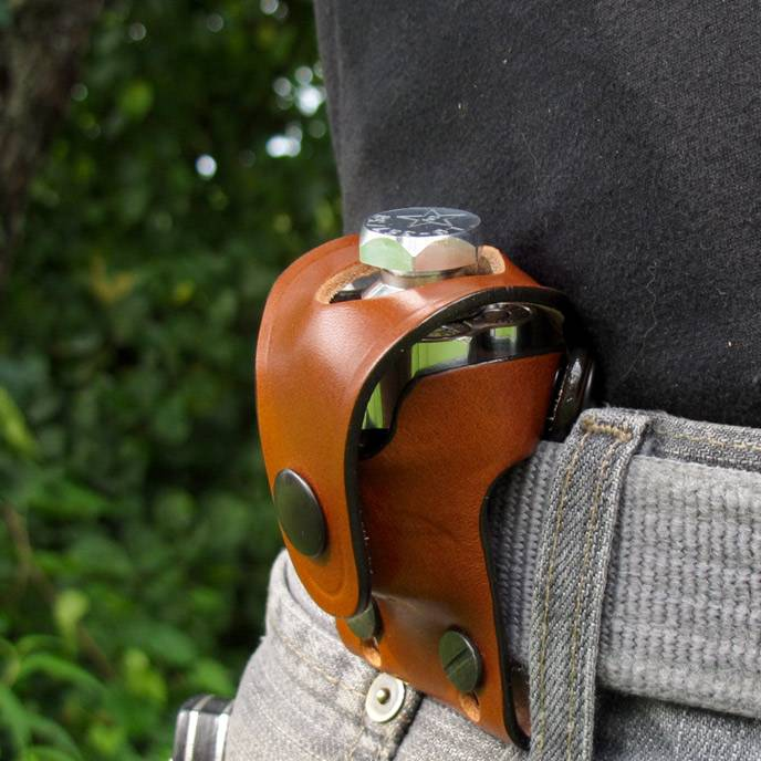 Leather Speedloader Holsters