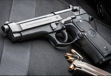 UX Leder Holster für Beretta 90 92 96 M9 schwarz Pistolenholster VlaMiTex