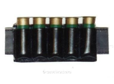 5 Shotgun Cartridges Poch
