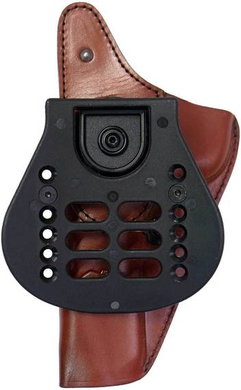 Leather Paddle Holster w Thumb Break