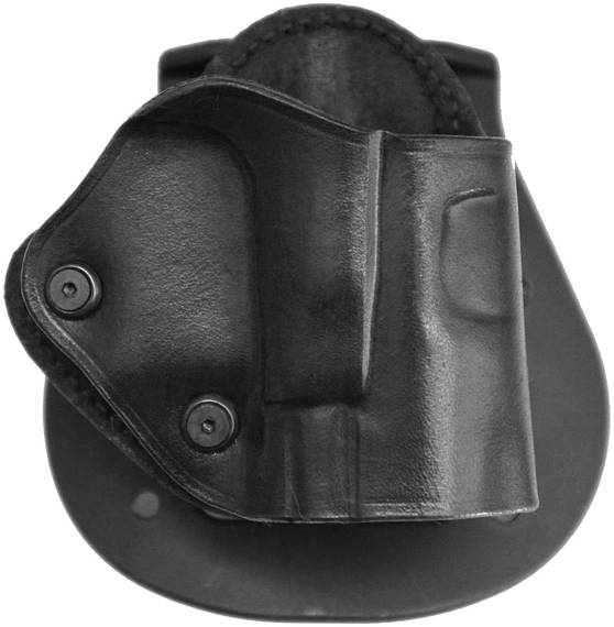 Leather Paddle Holster w 2 Tension Screws