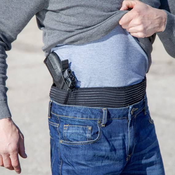 Breathable Belly Band Holster for Concealed Gun Carry