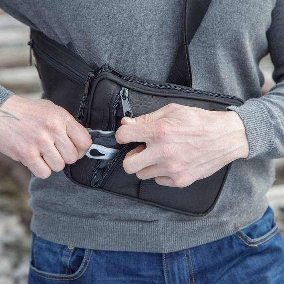 Chest Bag for Concealed Gun Carry