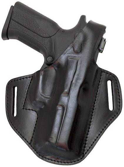 Closed Muzzle Leather Belt Holster