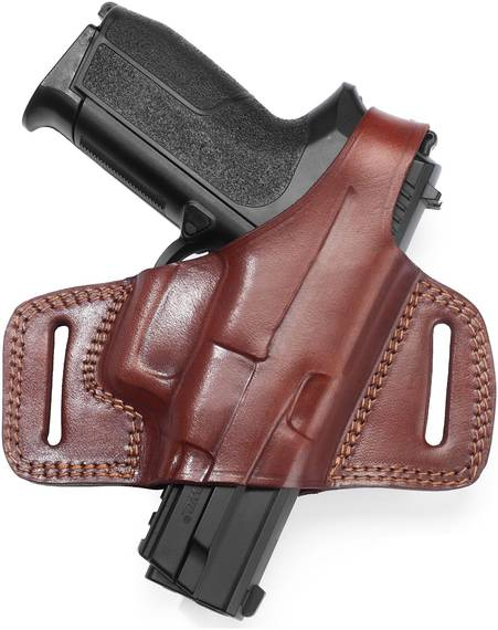 Compact Leather Belt Holster