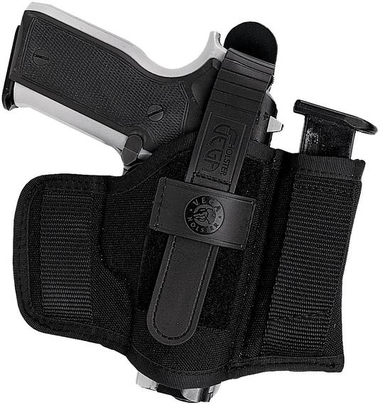 Cordura Belt Holster with Magazine Pouch