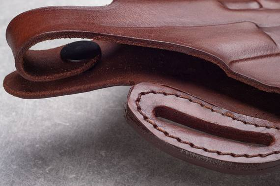 Cross Draw Leather Gun Holster