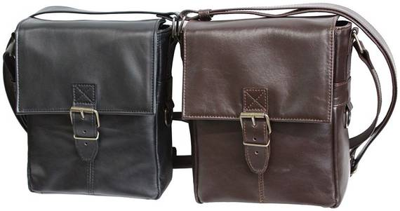 Designer Concealed Carry Bag In Leather